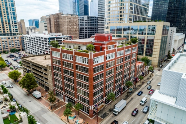 GOOD UPSIDE - HISTORIC BUILDING - LOFT CONVERSION - DOWNTOWN HOUSTON, TX